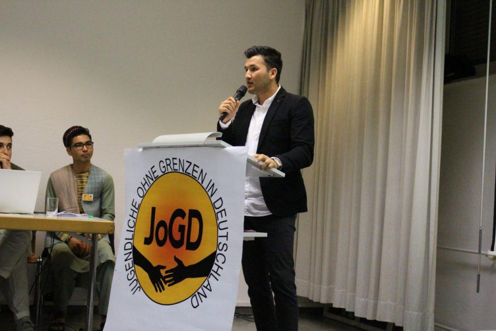 Eröffnung Jugendliche ohne Grenzen in Deutschland